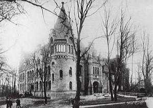 Schloss Bergedorf, 1899