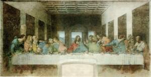 Leonardo Da Vincis Abendmahl