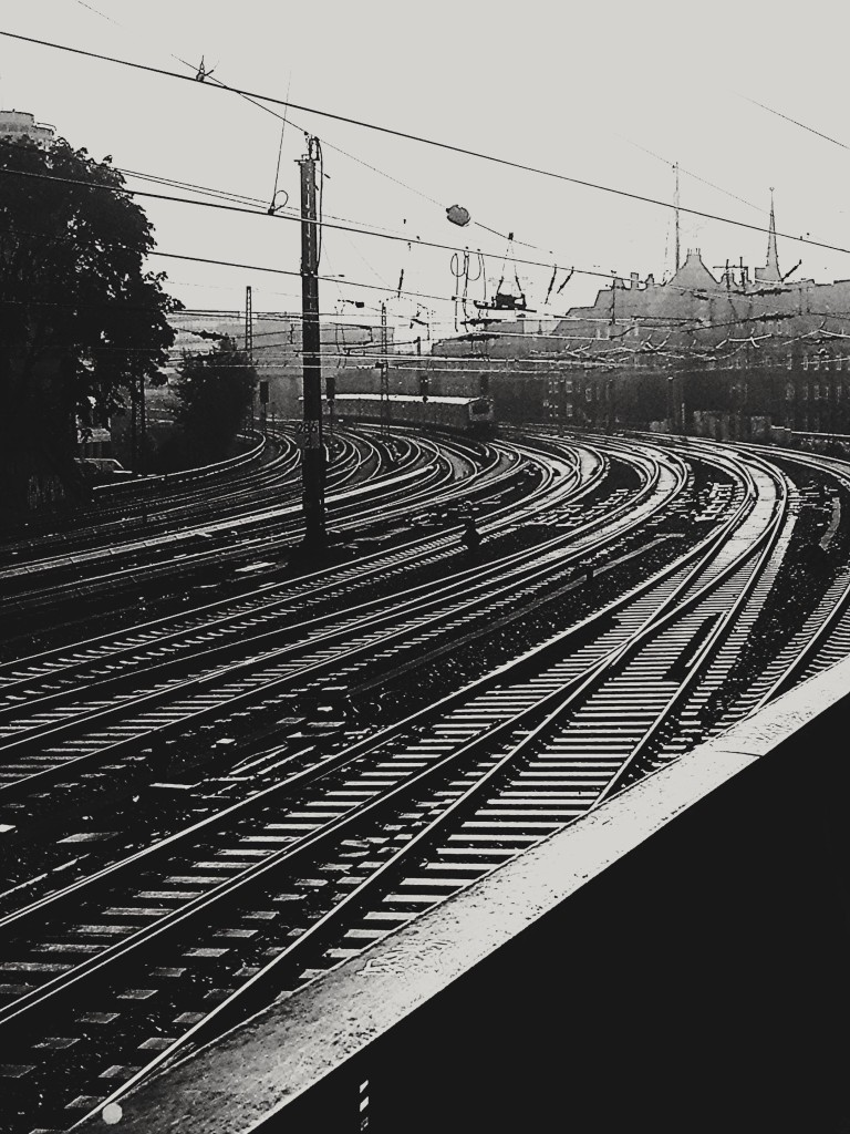 Hamburg Hauptbahnhof Gleise Foto