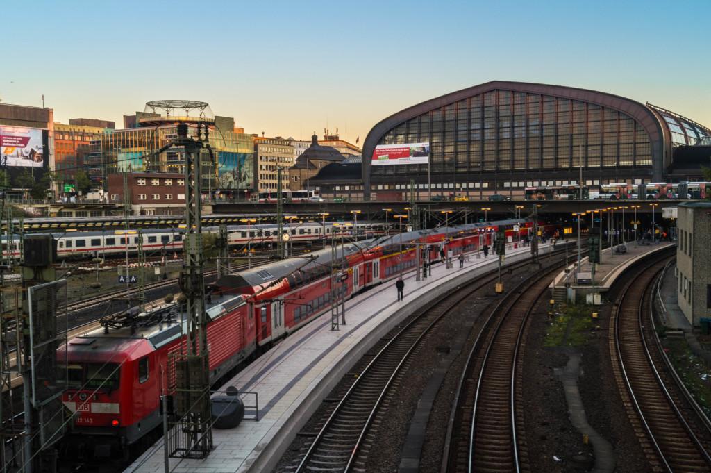 Hamburg Hauptbahnhof Zug