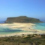 Gramvousa Lagune Kreta Foto
