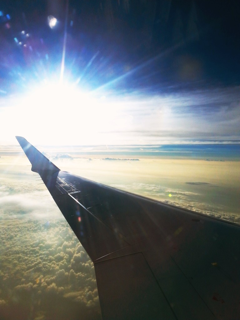 Handyfoto Flugzeug