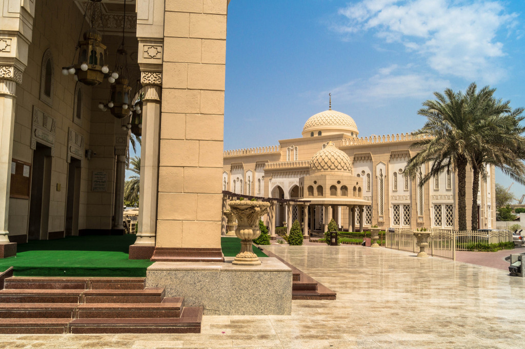 Dubai Große Moschee 2015