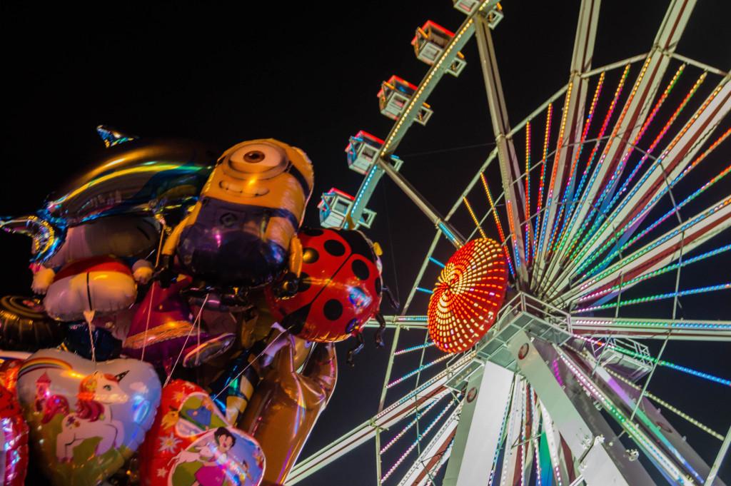 Bremen Freimarkt Ballons Riesenrad