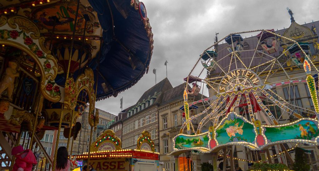 Bremen alter Freimarkt Foto