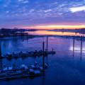 Foto der Woche Elbe Sonnenaufgang Eis
