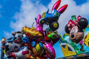 Osterwiese Bremen Ballons