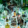 Whisky Flaschen Foto