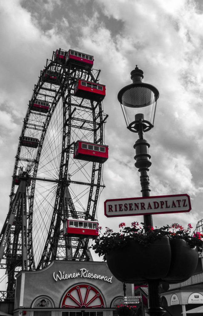Wien Prater Riesenrad Foto der Woche