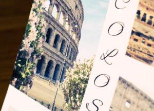 Rom Foto Fotoheft Kolosseum